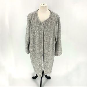 A New Day | Thick Knit Gray Cardigan w/Pockets